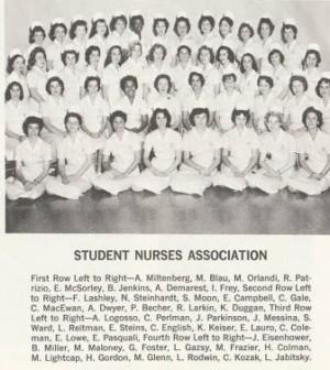 Adelphi Nursing Class of 1961 Yearbook