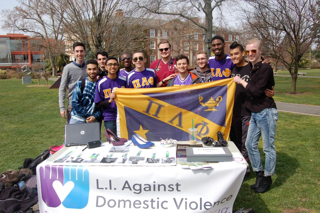Pi Lambda Phi Walk a Mile in Her Shoes 2016