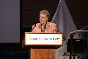 Adelphi University   Buckley Lecture. Photo Credit: Chris Bergmann Photography