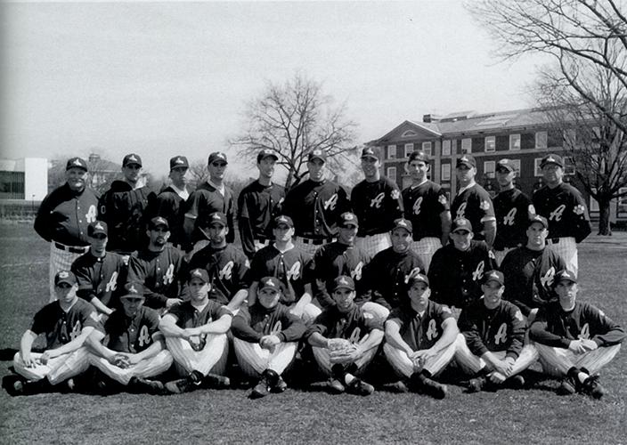 1996 Adelphi Baseball Team