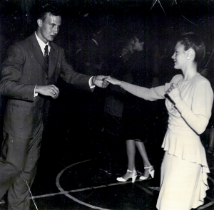 John Bradford and June Becht 1946