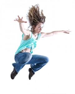 Kinesis Project dancer, Callie Ritter. Photo by Stephen de las Heras