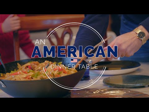 """An American Dinner Table"", Huffington Post"