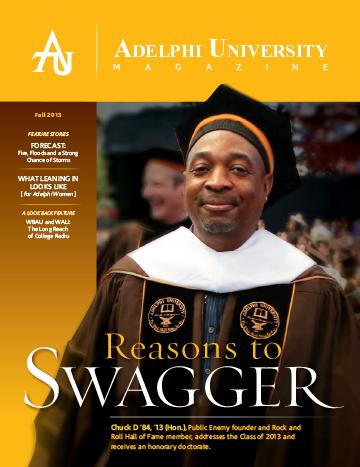 Adelphi University Magazine - Fall 2013