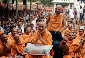 Pramukh Swami Maharaj, photo credit: The New York Times.