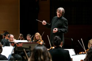 Christopher Lyndon-Gee, conductor Gabrielius Alekna, solo piano Darla Diltz, solo soprano