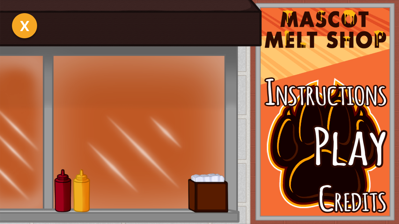 Mascot Melt Shop Game Launch Screen