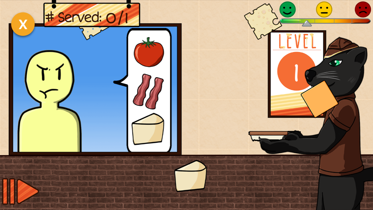Mascot Melt Shop Game Screenshot