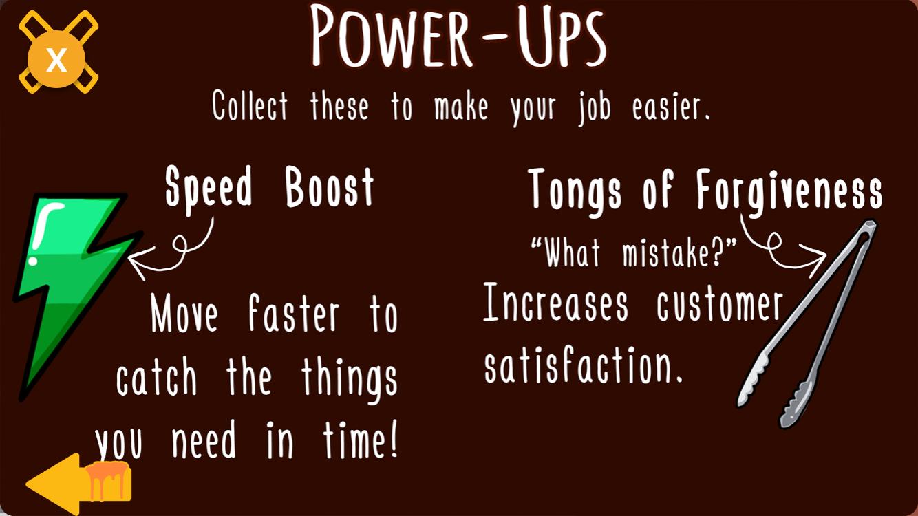 Mascot Melt Shop Power-Ups