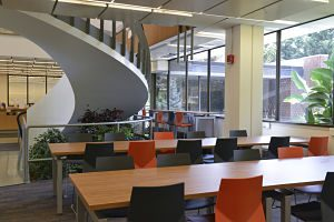 Renovations at the Swirbul Library