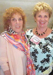 Judy Platt and Barbara at the Breast Cancer Program