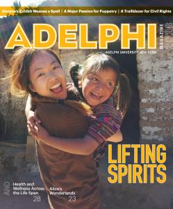 Adelphi Magazine 2018 Cover