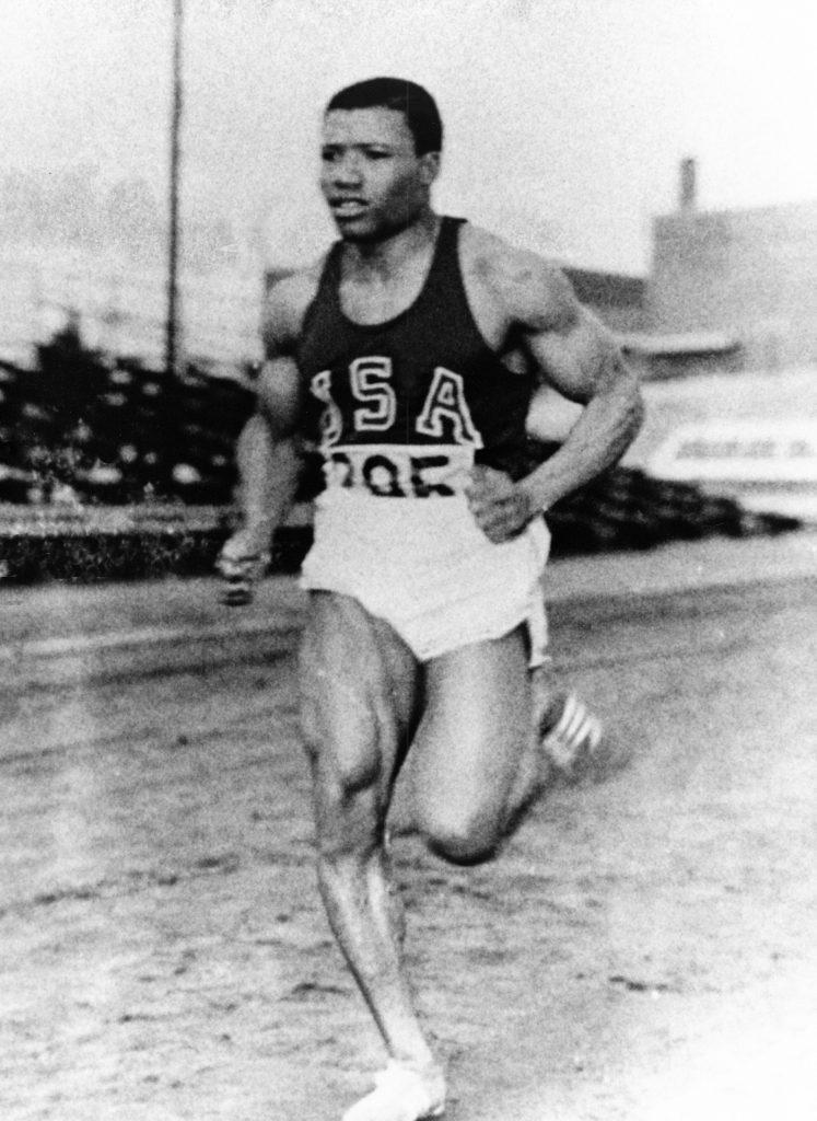 Olympian Mel Pender Running