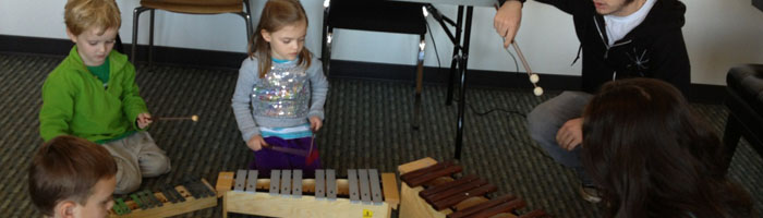 An interactive music experience for children