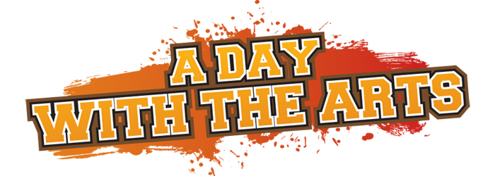 A Day with the Arts Logo