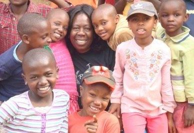 Anne with children