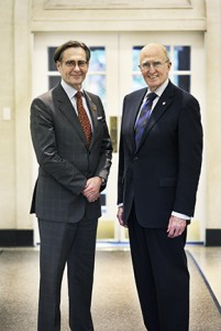 Mark W. Harris, CEO and President of ELS Educational Services, Inc. and Dr. Robert A. Scott, President of Adelphi University