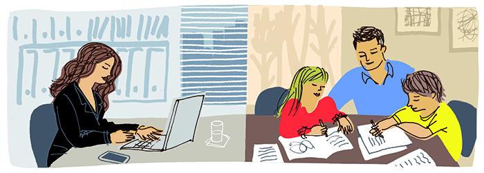 Homework illustration. Artist: Einat Peled