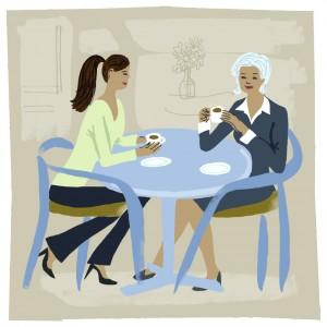 Coffee Illustration. Artist: Einat Peled