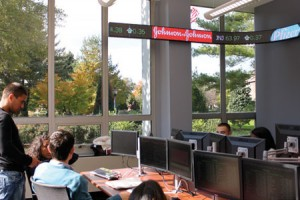 School of Business trading rooms
