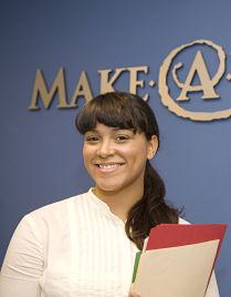 Hilda Perez at Make a Wish