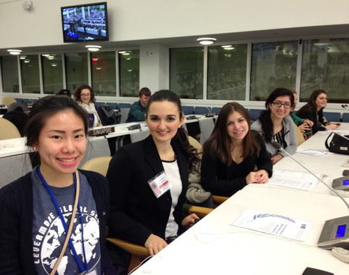 Levermore Global Scholars at the UN