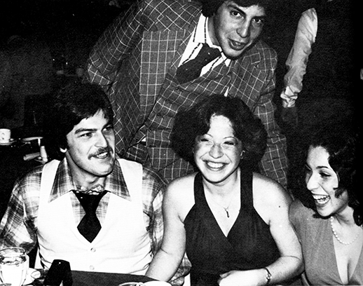 Adelphi students in the The Rathskeller (Ratt) in 1977