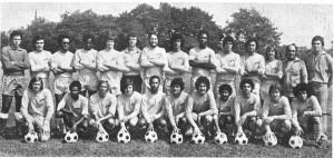 1974 Men's Champion Soccer Team