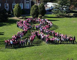 Human Ribbon - Breast Cancer