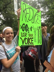 Adelphi, People's Climate March 2014, September 21st, New York City