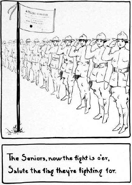 WWI Cartoon from Adelphi's Oracle