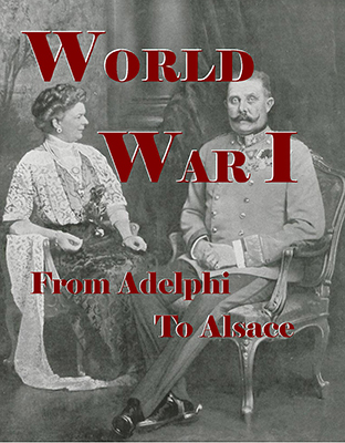 WWI Cover Ferdinand