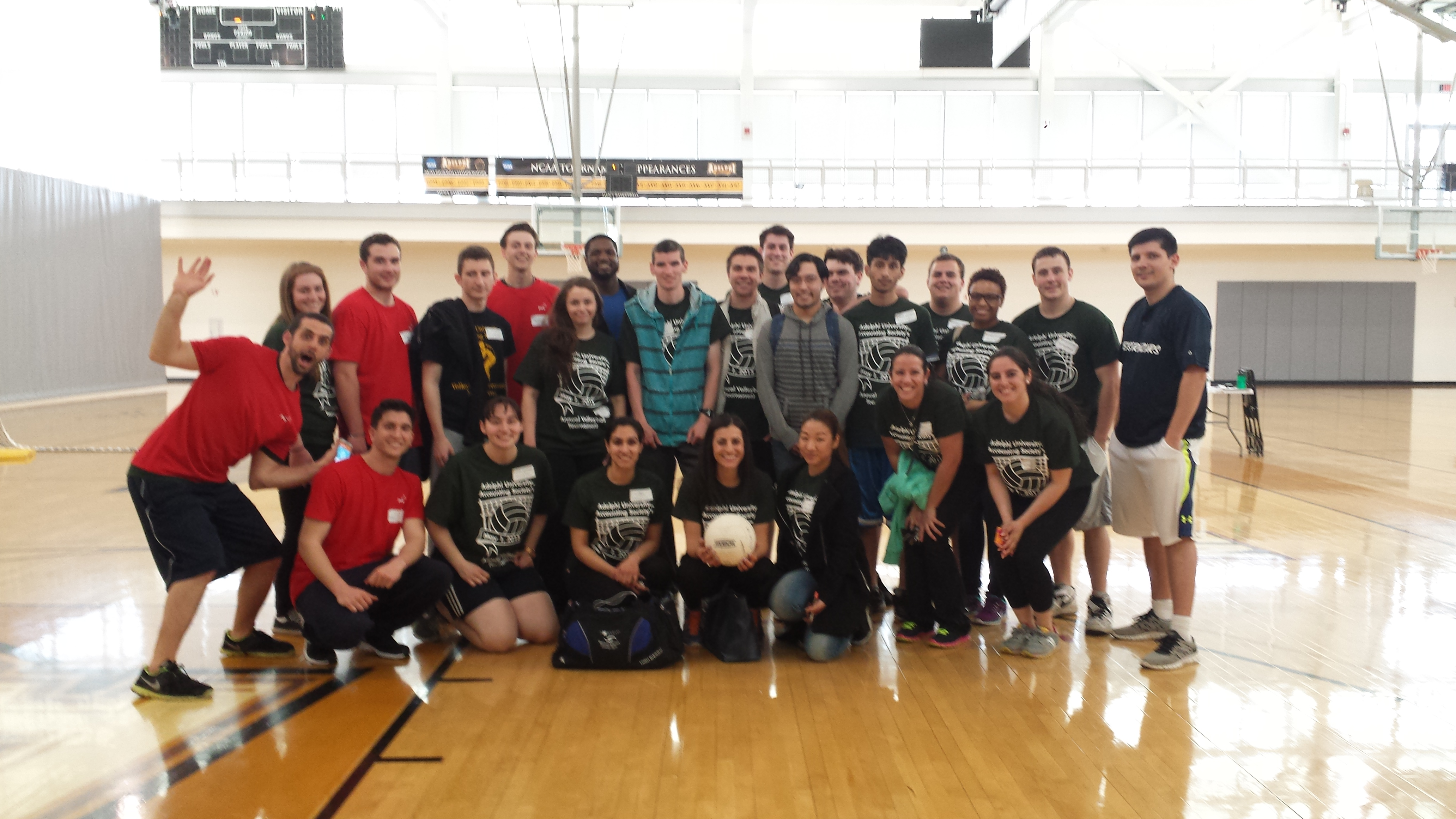 Accounting Society Volleyball Tournament 2015