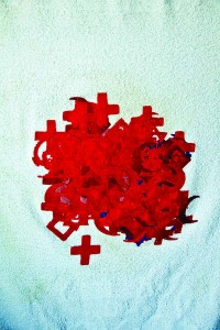 FacultyExhibit_ChristopherSacuedo_towel blood 1