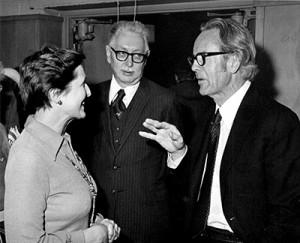 March 10, 1977 Gordon Derner at psychology lecture at Waldorf school.