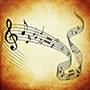 music-notes-brown-icon