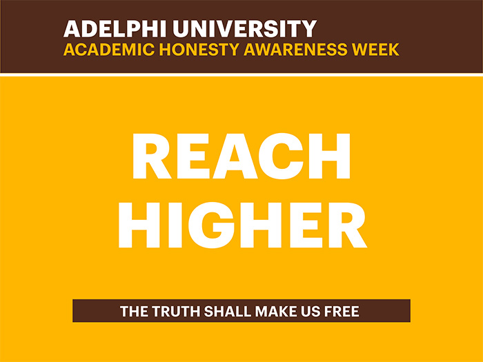 Reach Higher - Academic Honesty Awareness Week