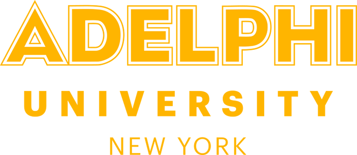 Adelphi University New York Logo - Wordmark