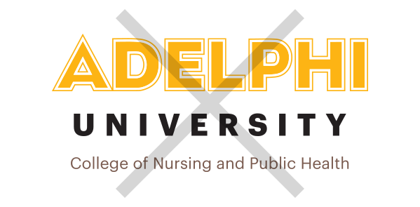 Adelphi Logo Usage Example - Using Different Colors