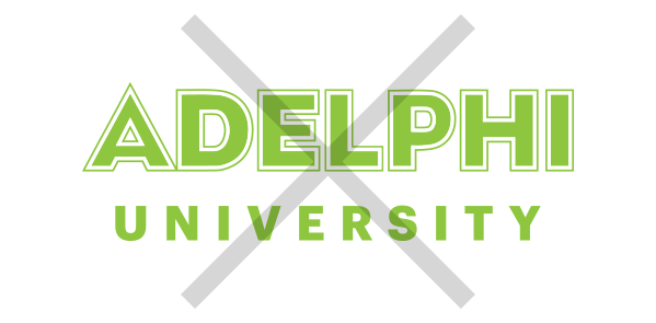 Adelphi Logo Usage Example - Wrong Color