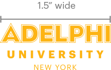 Adelphi Logo Minimum Size Example