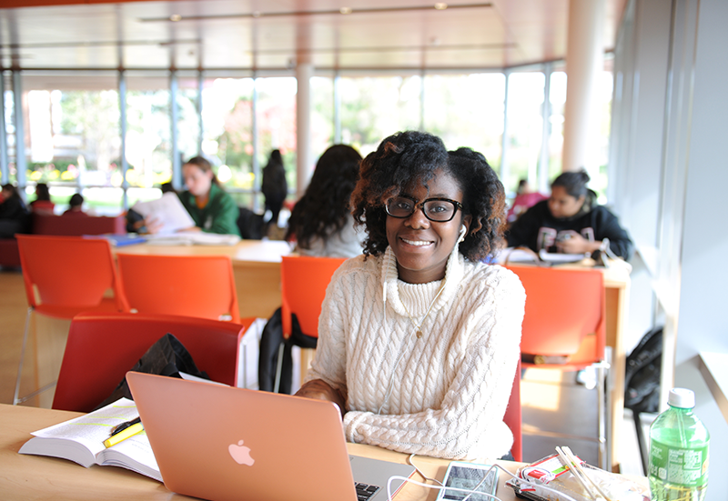 Lighting - Photo Example of Student in Nexus
