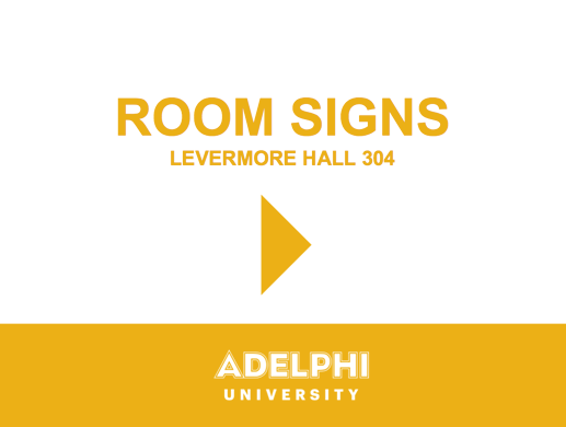 Room Sign Right