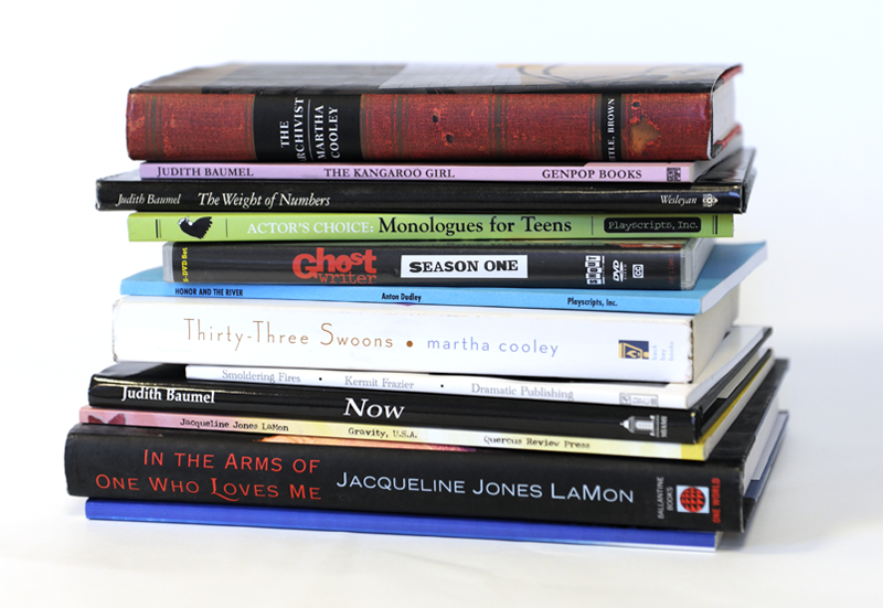 Still Life Example - Books on a White Background