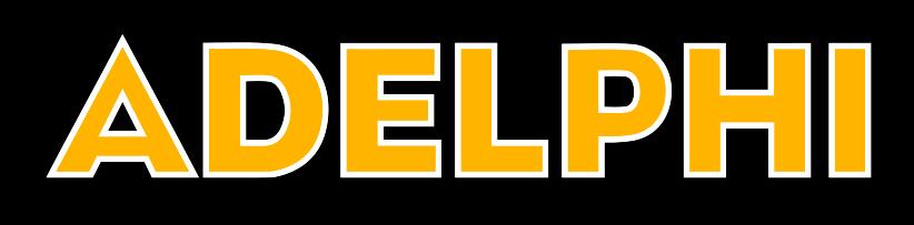 Adelphi Athletic Wordmark Example