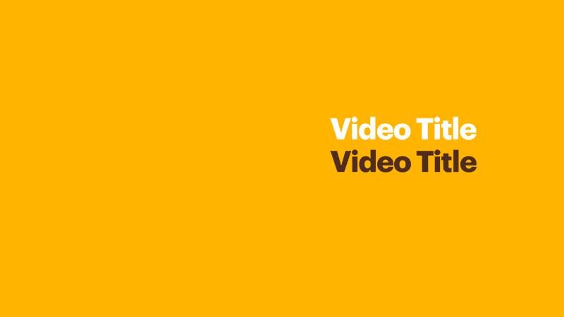 Adelphi Video Opener