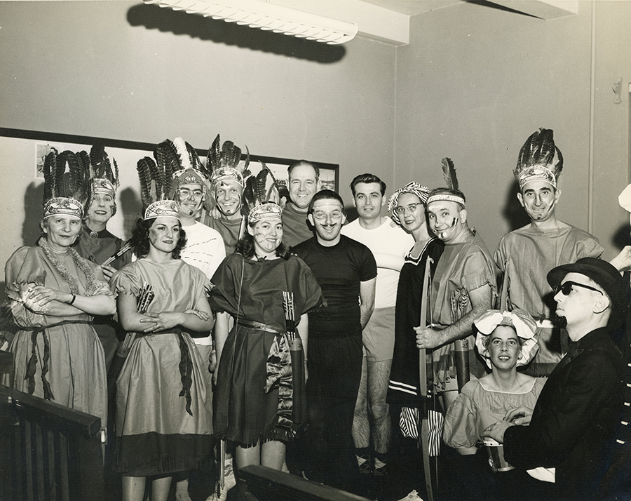 All-College Night, 1955.