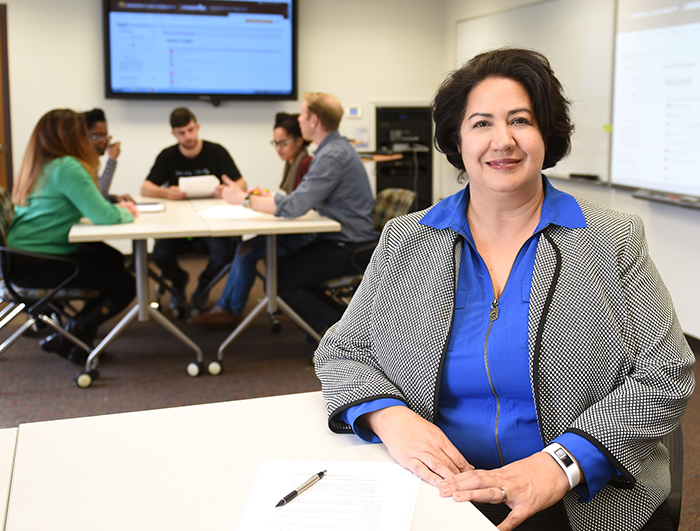 Nathalie Zarisfi, director of the Faculty Center for Professional Excellence at Adelphi University