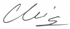 Christin Riordan Signature