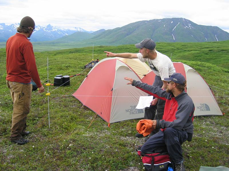 Adelphi Students in Alaska